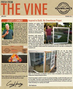 THE VINE - APRIL 2013 (ENG)