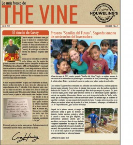 The Vine July 2013 Spanish