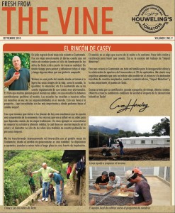 The Vine Image Spanish September