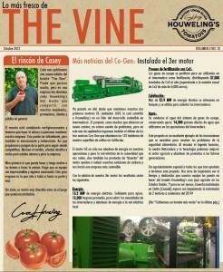 The Vine Online October 2013 Spanish