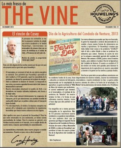 The Vine, Houweling's Tomatoes Newsletter