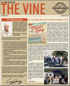 The Vine, Houweling's Tomatoes Newsletter