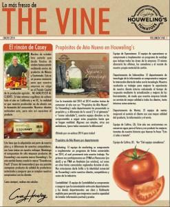 The Vine Online February 2014 Spanish